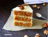 Морковный тортик (тяжелая по весу начинка)